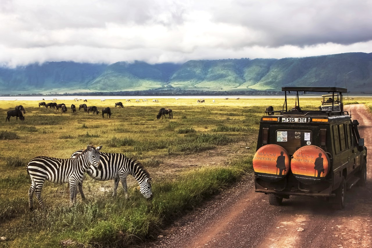 Serengeti National Park and Ngorongoro Crater, Tanzania