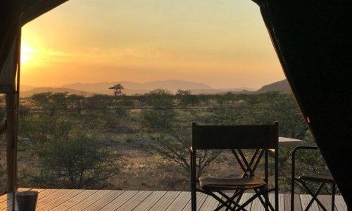 Buruxa sunset from tent
