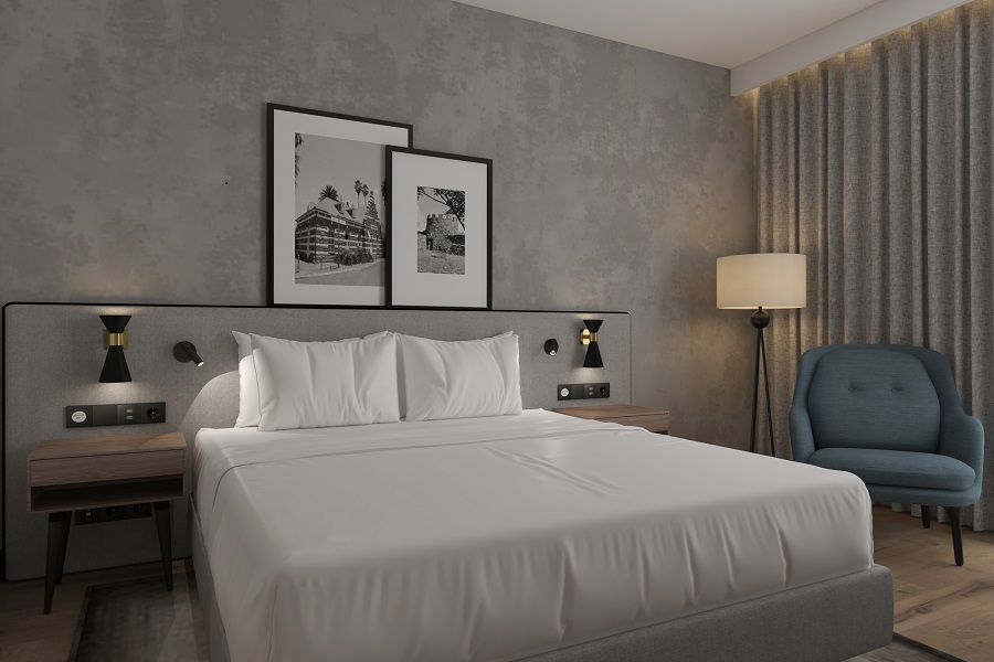 Radisson Middelburg bedroom